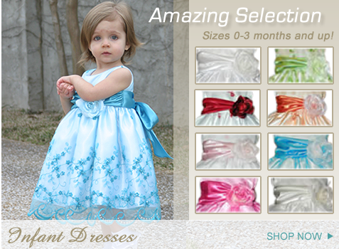 Flower Girl Dresses Bridesmaid Pageant Formal Kids Formal Kids