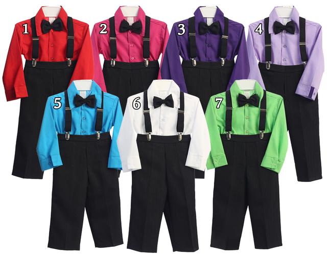 Boys Formal Vest Set, V103