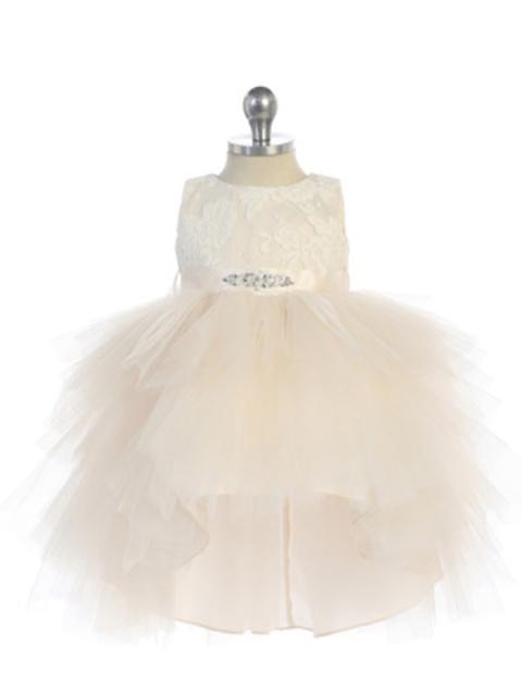 High Low Infant Dress, T572