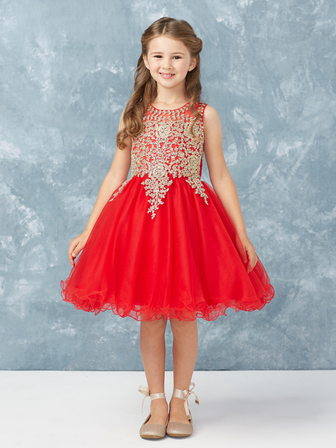 Girls Pageant Dress T713