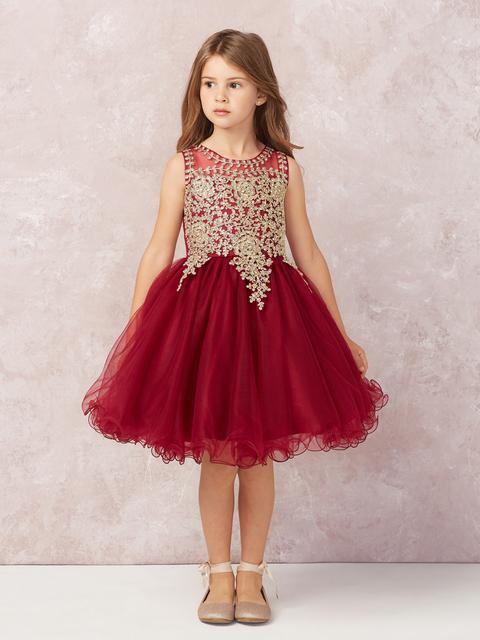 Girls Pageant Dress T713