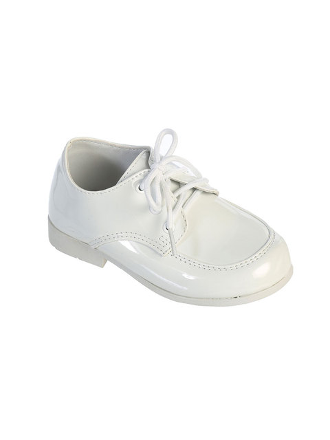 Infant Boys Dress Shoes Black White Or Ivory