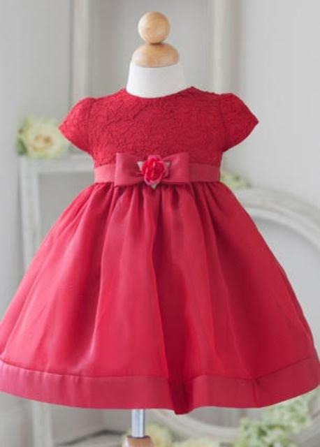 Infant Lace Flowergirl dress B815