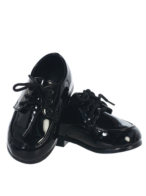 Infant Amp Boys Dress Shoes Black White Or Ivory