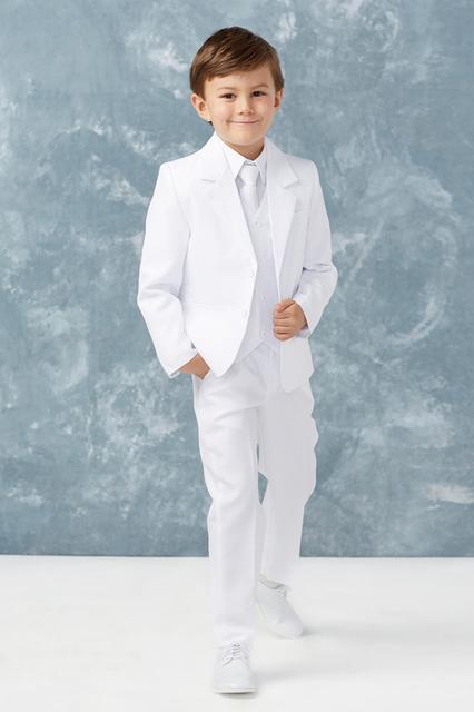 Boys White Suit, T402W