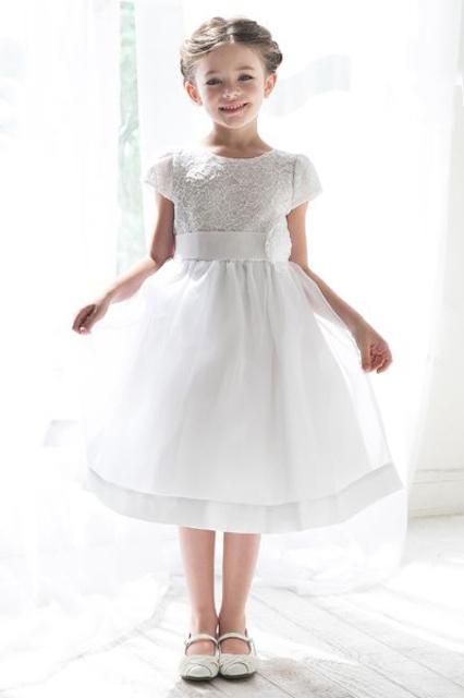 Lace Flowergirl Dress K1129