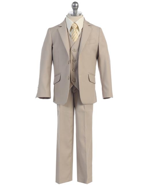 Boys Khaki Suit, F695