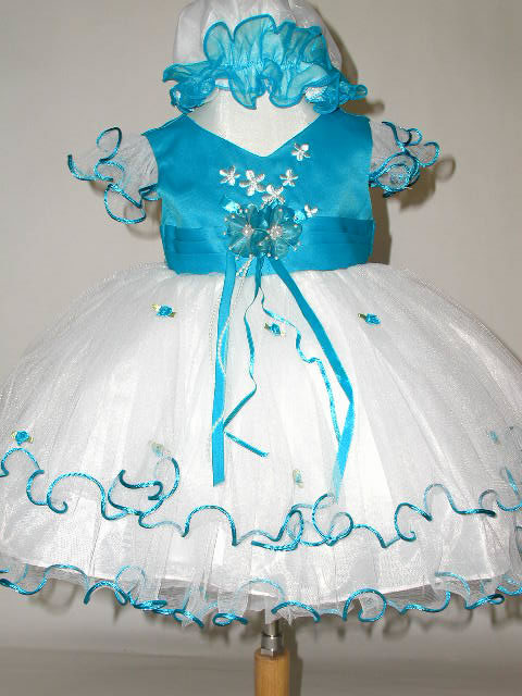 Frilly Tulle Baby Dress J277