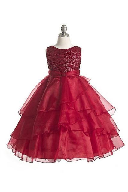 Shimmer Flower Girl Dress J3559