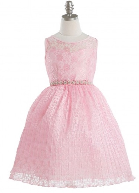 Lace Flowergirl Dress J32