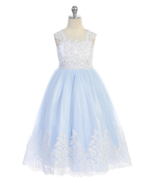 Girls Pageant Gown J7004