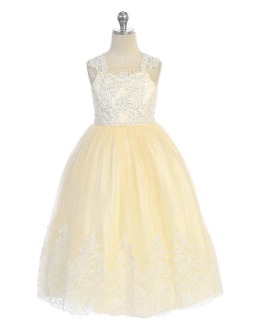 Flower Girl Dress J7004