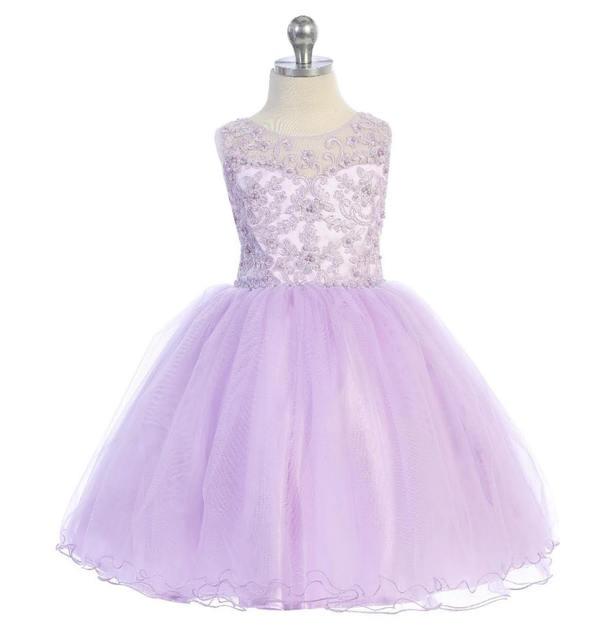 Flower Girl Dress J701