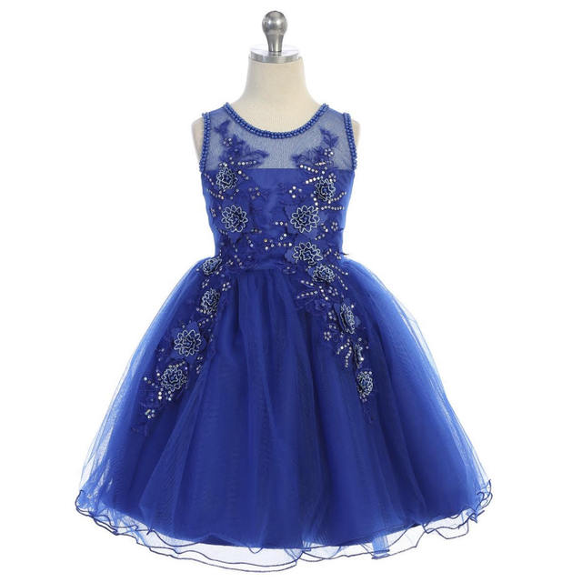 Girls Pageant Dress J7025