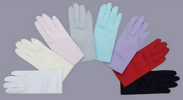 Matte Children Short Gloves