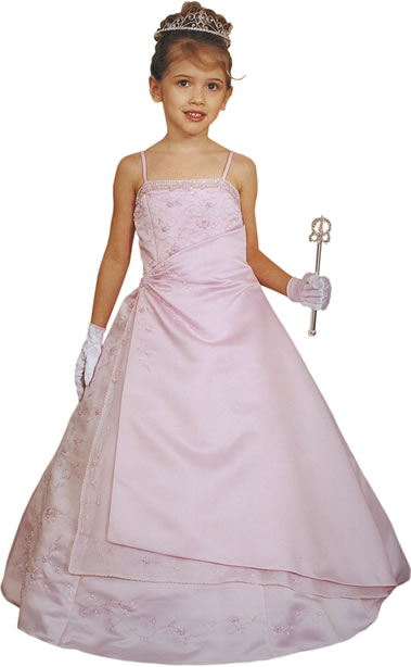 Glizty Child A-line Gown, MB617