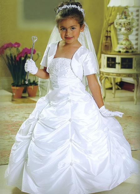 Beaded Taffeta Pickup Gown, MB808