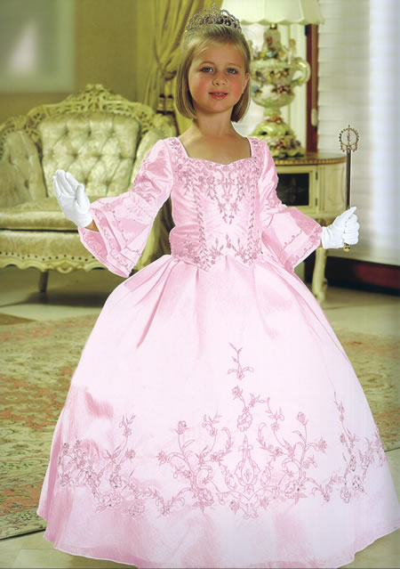 Child Beaded Pageant Gown, MB809