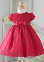 Infant Lace Flowergirl dress B815