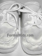 Boys Christening Booties, B1