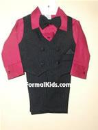 Boy Formal Vest Set, V3