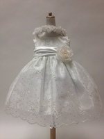 Sparkle Organza Infant Formal, C277