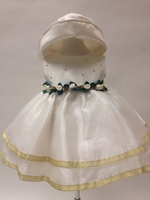 Satin & Organza Infant Formal, C707