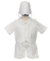Boys Christening Outfit w/Hat, CO5