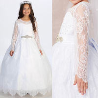 Lace Communion Dress T211