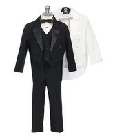 Infant & Children Tuxedo w/ Tails & Vest, IT1
