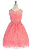 Lace Flower Girl Dress, J362