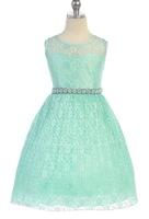 Lace Flower Girl Dress J362