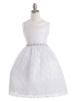 Lace Flowergirl Dress, J362