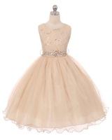 Lace Flowergirl Dress J367