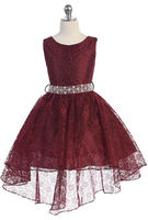 Kids High Low Formal, J374
