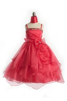 Child Coral Formal Gown, J999