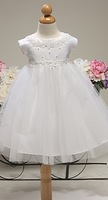 Pearl & Lace accented Infant Dress, K12