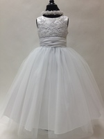 Lace & Tulle Tea Dress, K1212