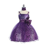 Leopard Sequin & Tulle Child Pageant Dress, KL267
