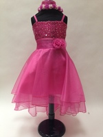 High Low Child Formal Dress, KL6767
