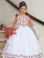 Satin Tiered Cinderella Gown, MB596