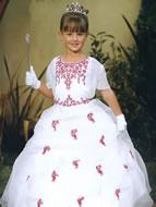 Glitzy Beaded Organza Gown, MB601