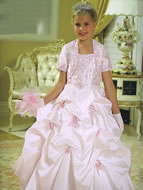 Beaded Pickup Princess Gown, MB803