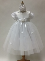 Butterfly Accented Kid Dress, P5139