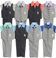 Boys Formal Vest Set, V105