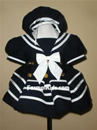Infant Sailor Dress, FG120
