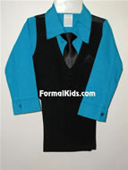Boy Formal Vest Set, V3
