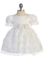 Embroidered Infant Dress, FG742
