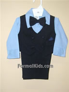 Infant Vest Set V2 Navy