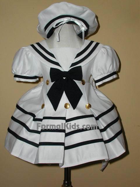 Infant Sailor Dress, FG120